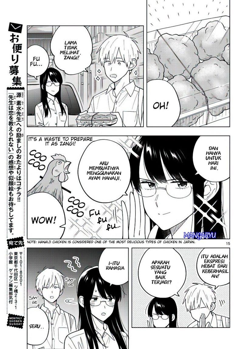 Sensei Wa Koi o Oshie Rarenai: Chapter 40 - Page 14