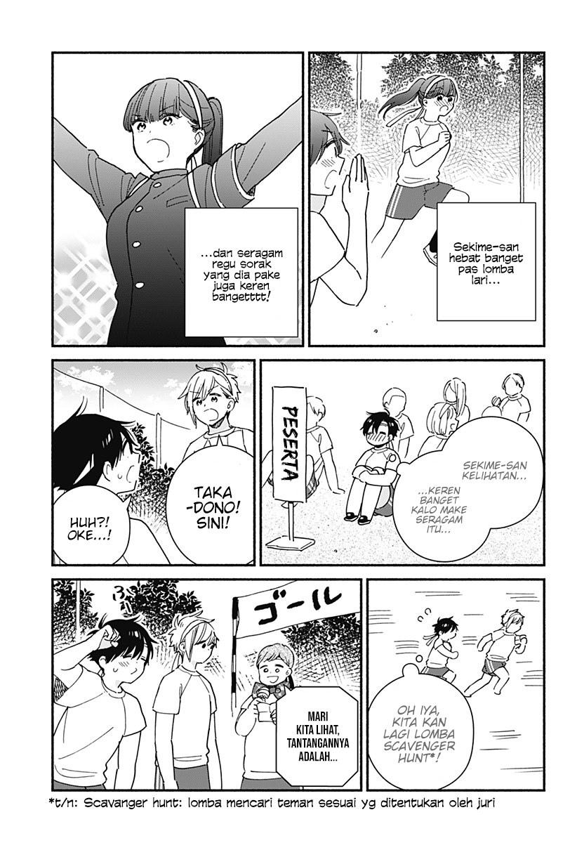 Sekimen Shinaide Sekime-san: Chapter 20 - Page 4