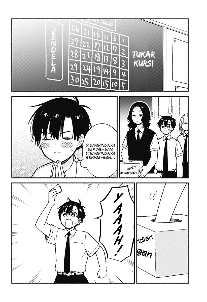 Sekimen Shinaide Sekime-san: Chapter 21 - Page 3