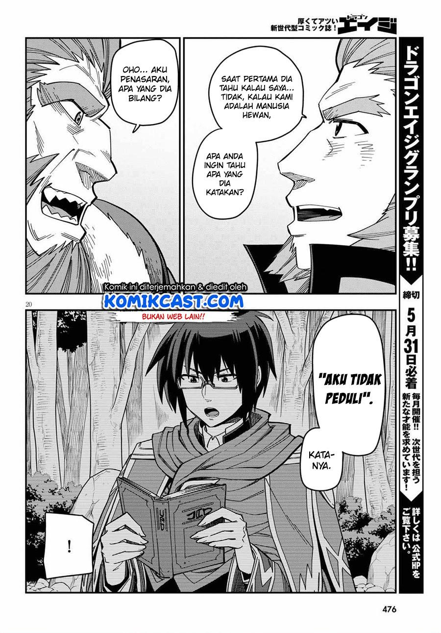 Konjiki no Moji Tsukai: Chapter 76 - Page 22