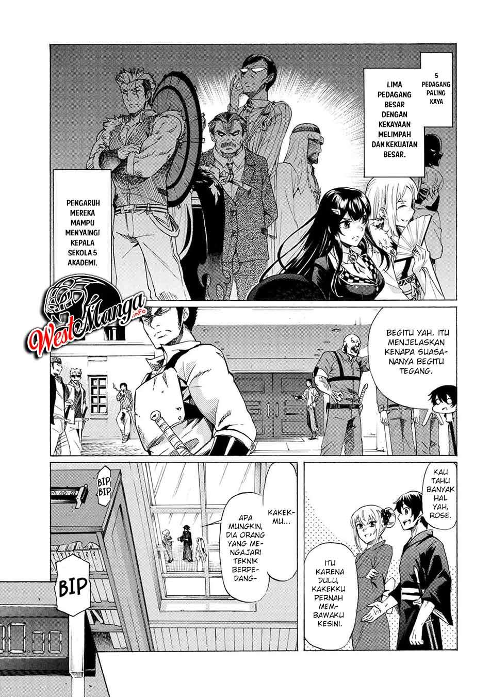 Ichioku-nen Button o Renda Shita Ore wa, Kizuitara Saikyou ni Natteita: Rakudai Kenshi no Gakuin Musou: Chapter 14.1 - Page 8