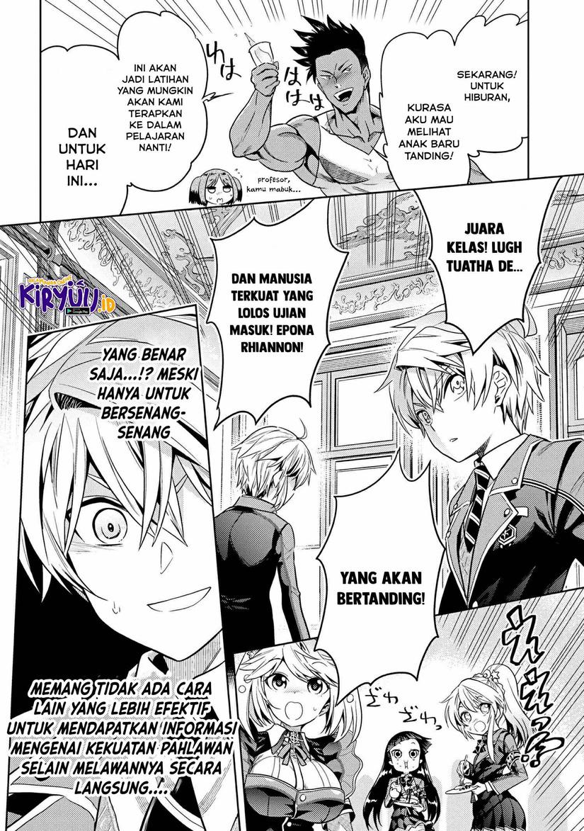 Sekai Saikyou no Assassin, isekai kizoku ni tensei suru: Chapter 12.2 - Page 21