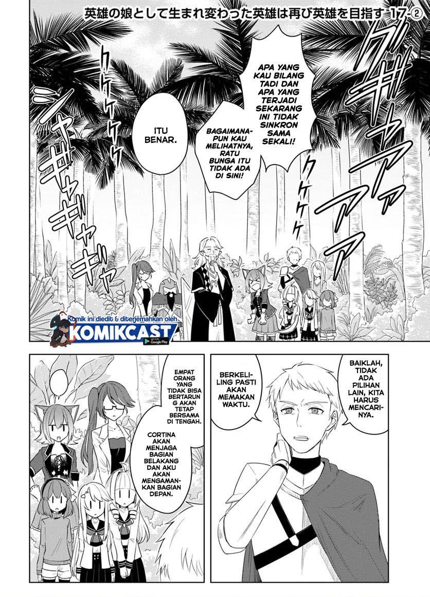 Eiyū no Musume to Shite Umarekawatta Eiyū wa Futatabi Eiyū o Mezasu: Chapter 17.2 - Page 2
