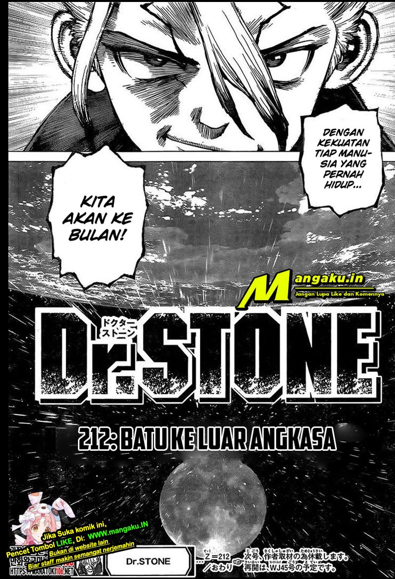 Dr. Stone: Chapter 212 - Page 19