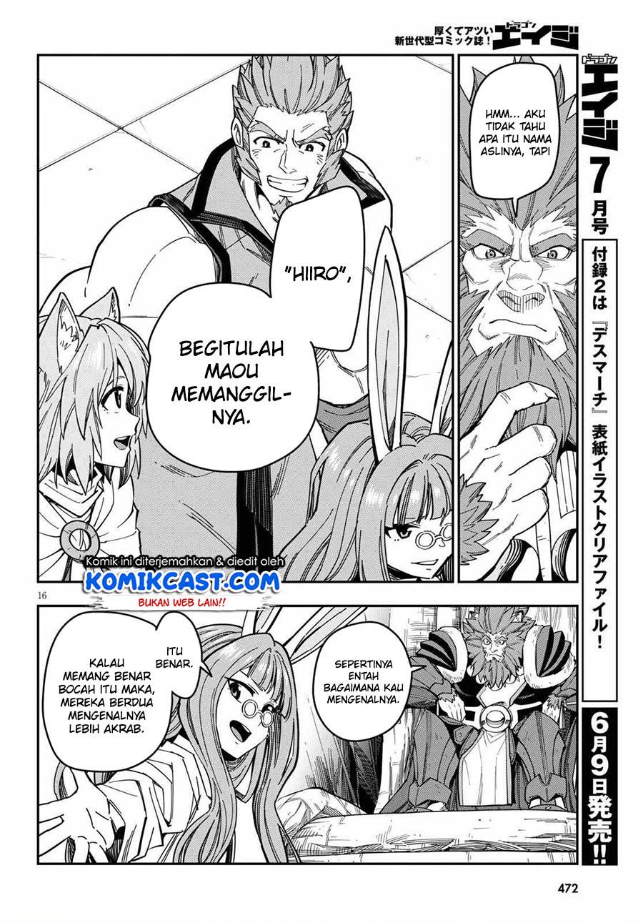 Konjiki no Moji Tsukai: Chapter 76 - Page 18