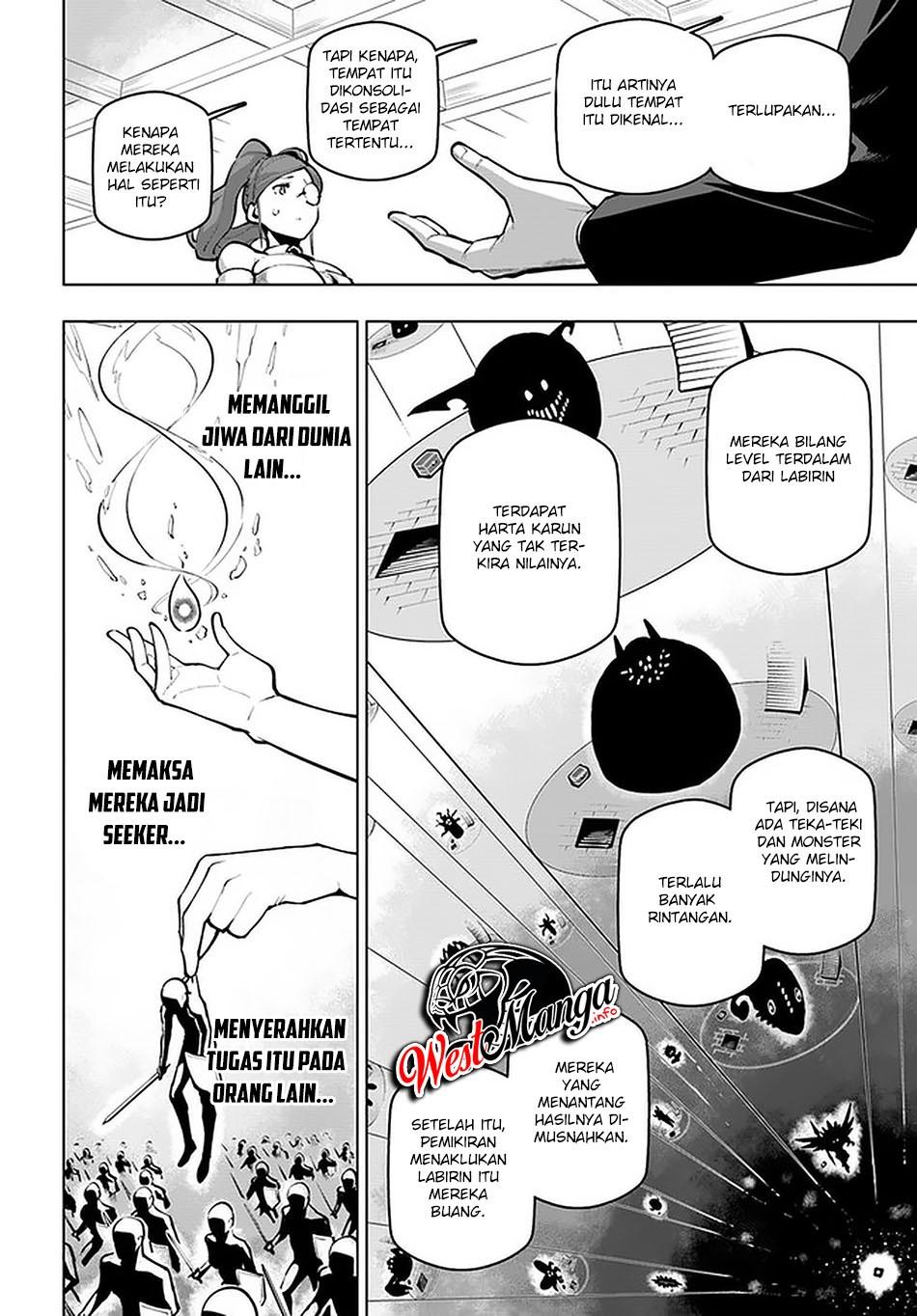 Sekai Saikyou no Kouei: Meikyuukoku no Shinjin Tansakusha: Chapter 18.2 - Page 8