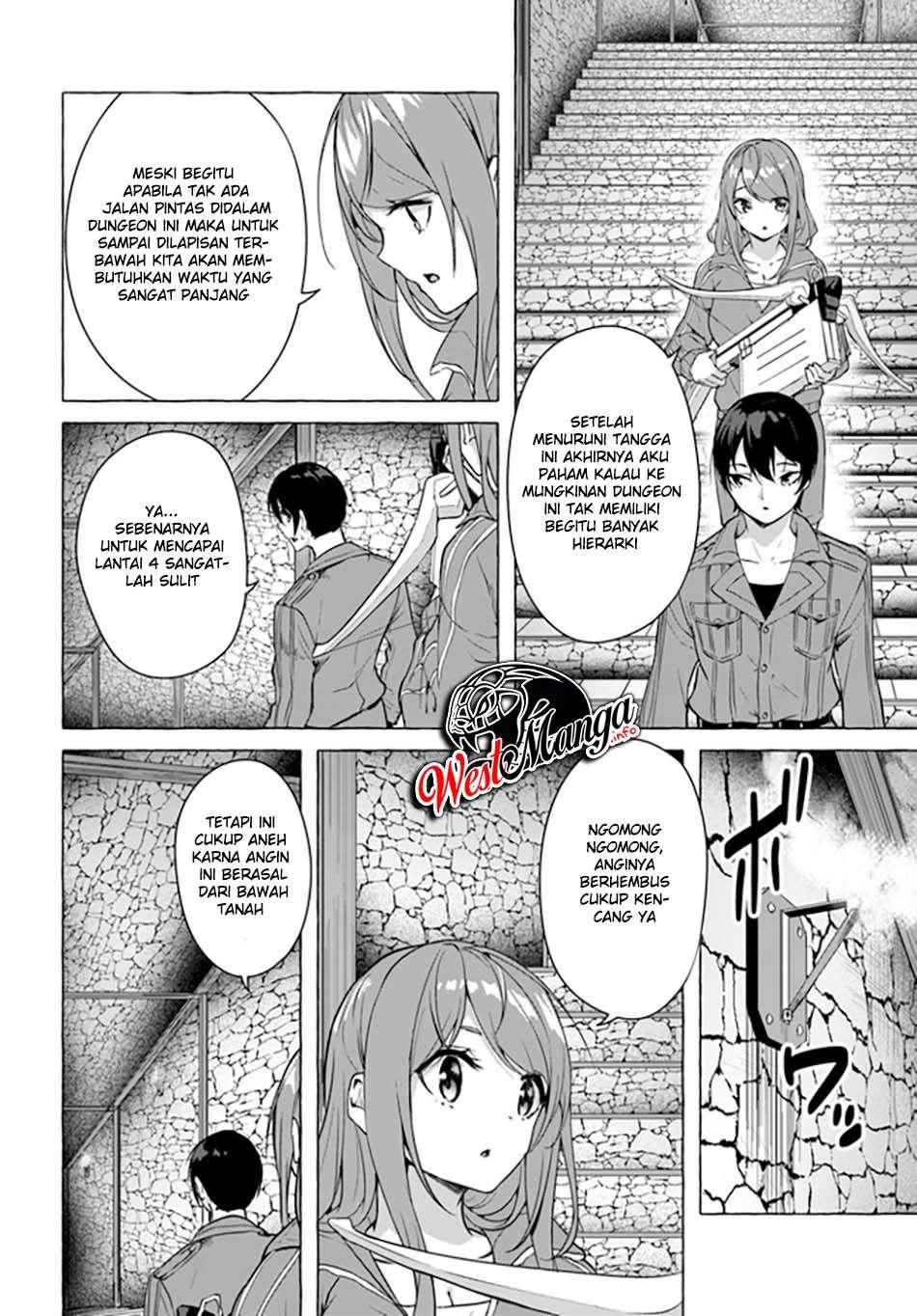 Sekkusu ando Danjon! ~ Wagaya no Chika ni, H Kaisuu = Reberu no Danjon ga Shutsugen Shita?!~: Chapter 19 - Page 5
