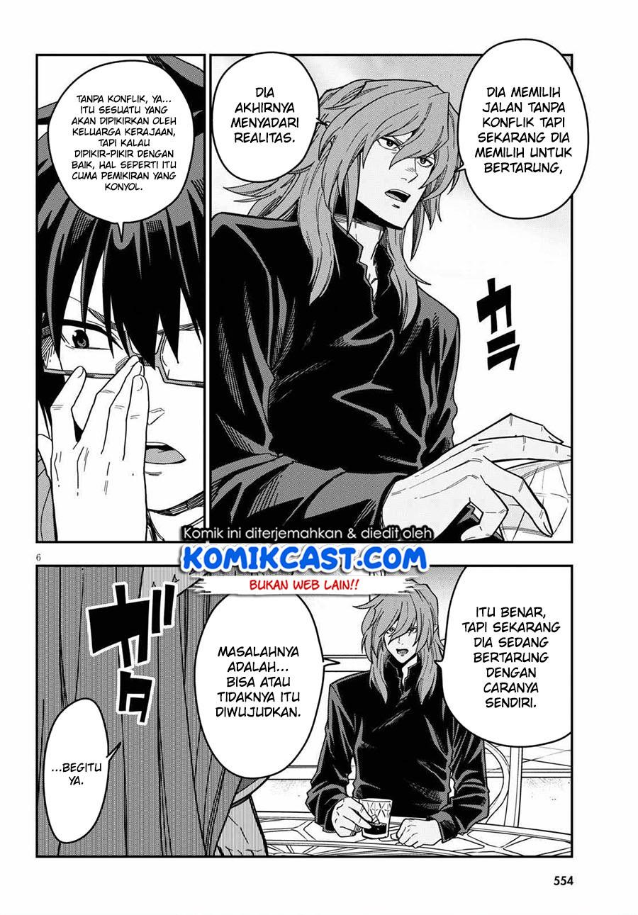 Konjiki no Moji Tsukai: Chapter 77 - Page 7