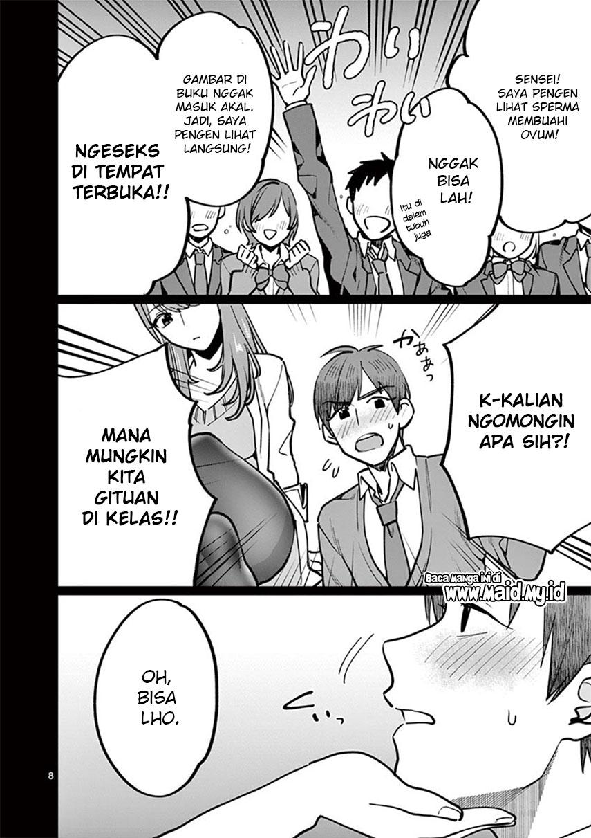 Sensei de ○○ shicha ikemasen!: Chapter 04 - Page 11