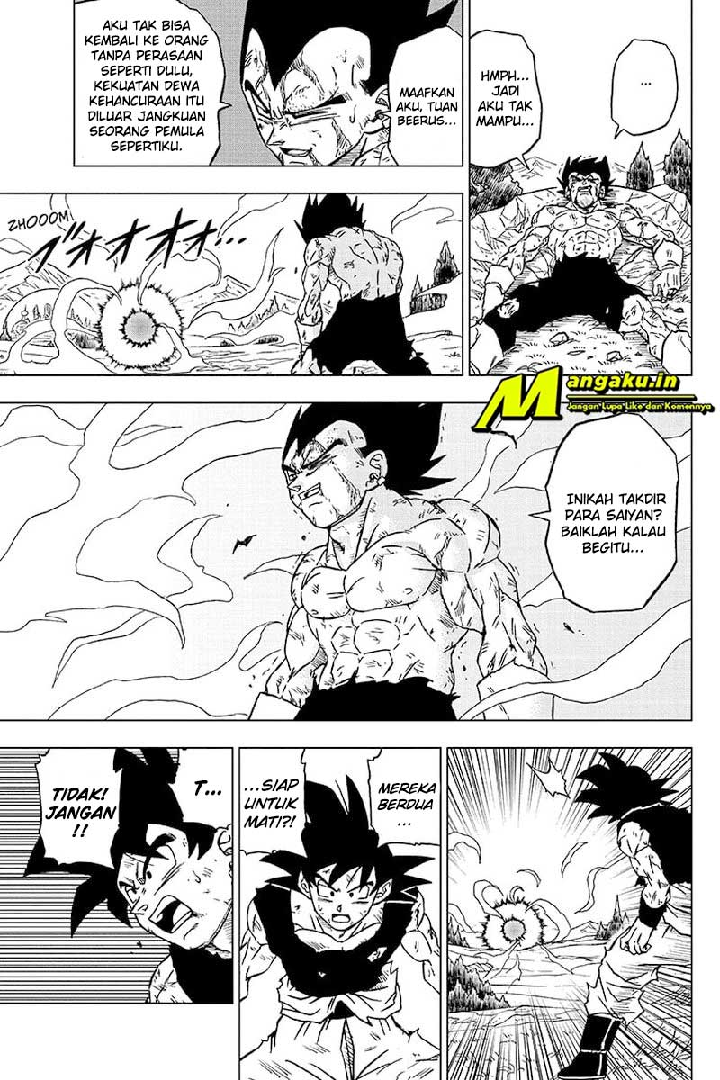 Dragon Ball Super: Chapter 76.2 - Page 16