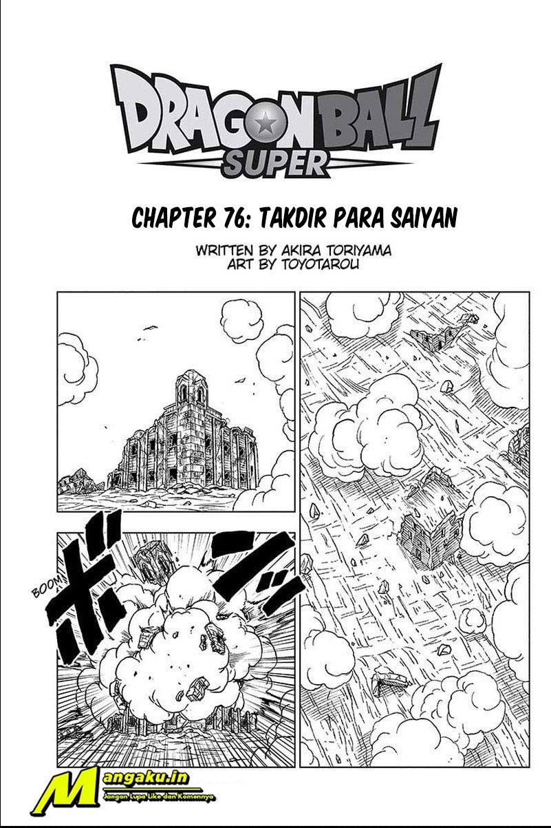 Dragon Ball Super: Chapter 76.1 - Page 2