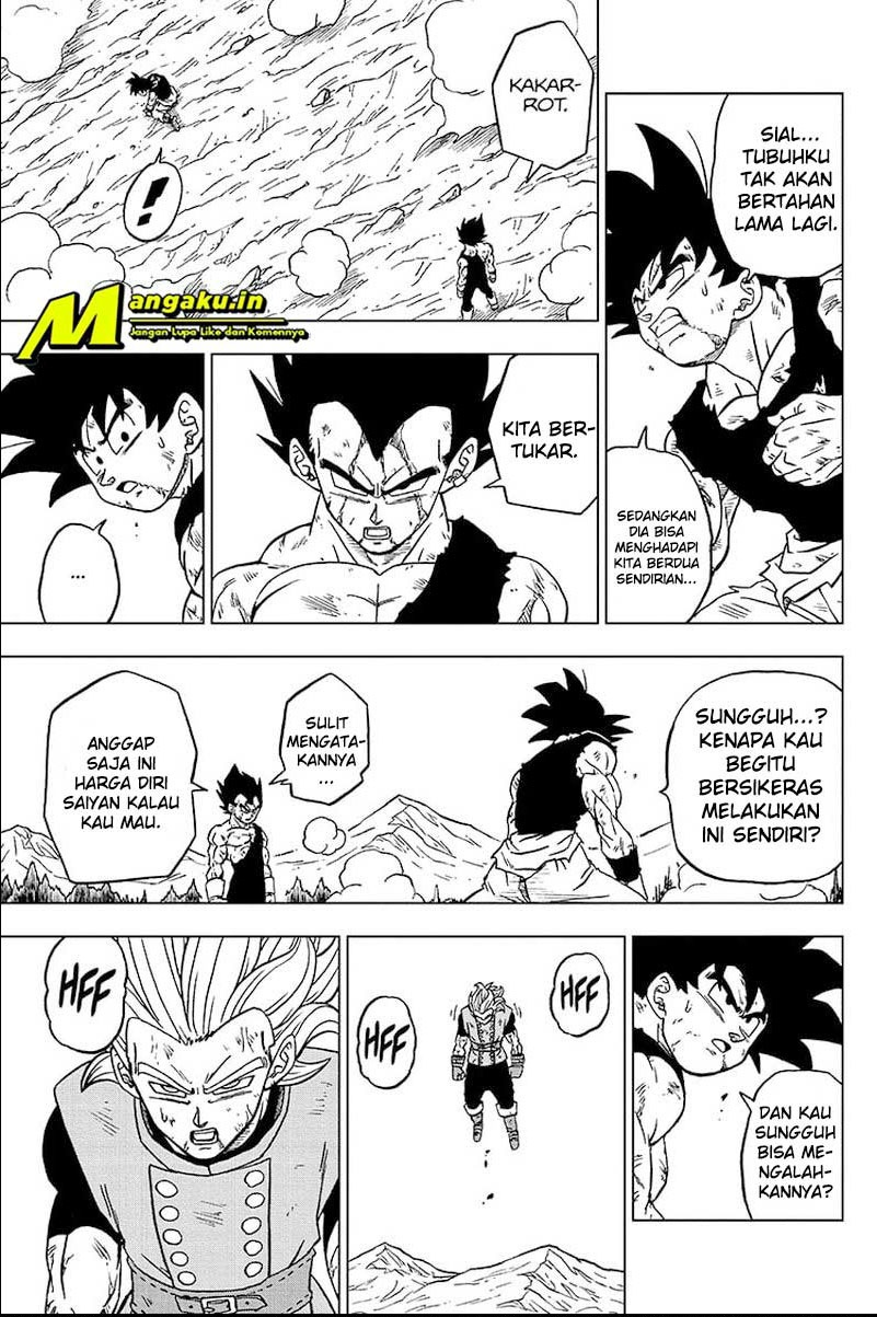 Dragon Ball Super: Chapter 76.1 - Page 22