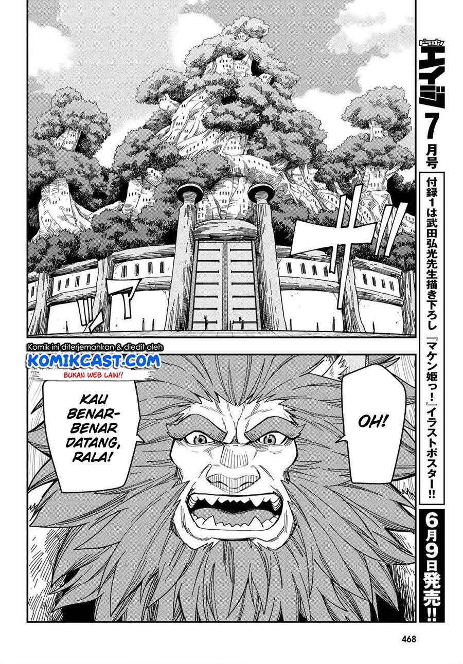 Konjiki no Moji Tsukai: Chapter 76 - Page 14
