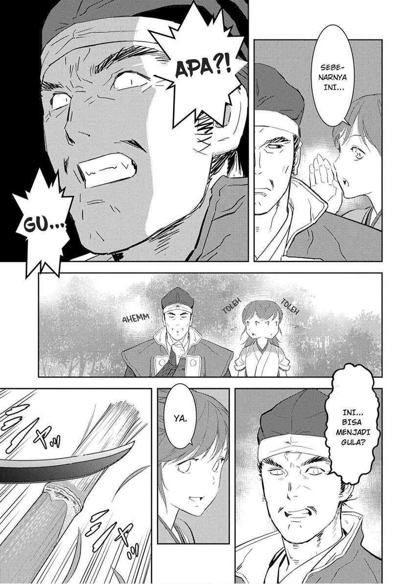 Sengoku Komachi Kuroutan: Noukou Giga: Chapter 07 - Page 9