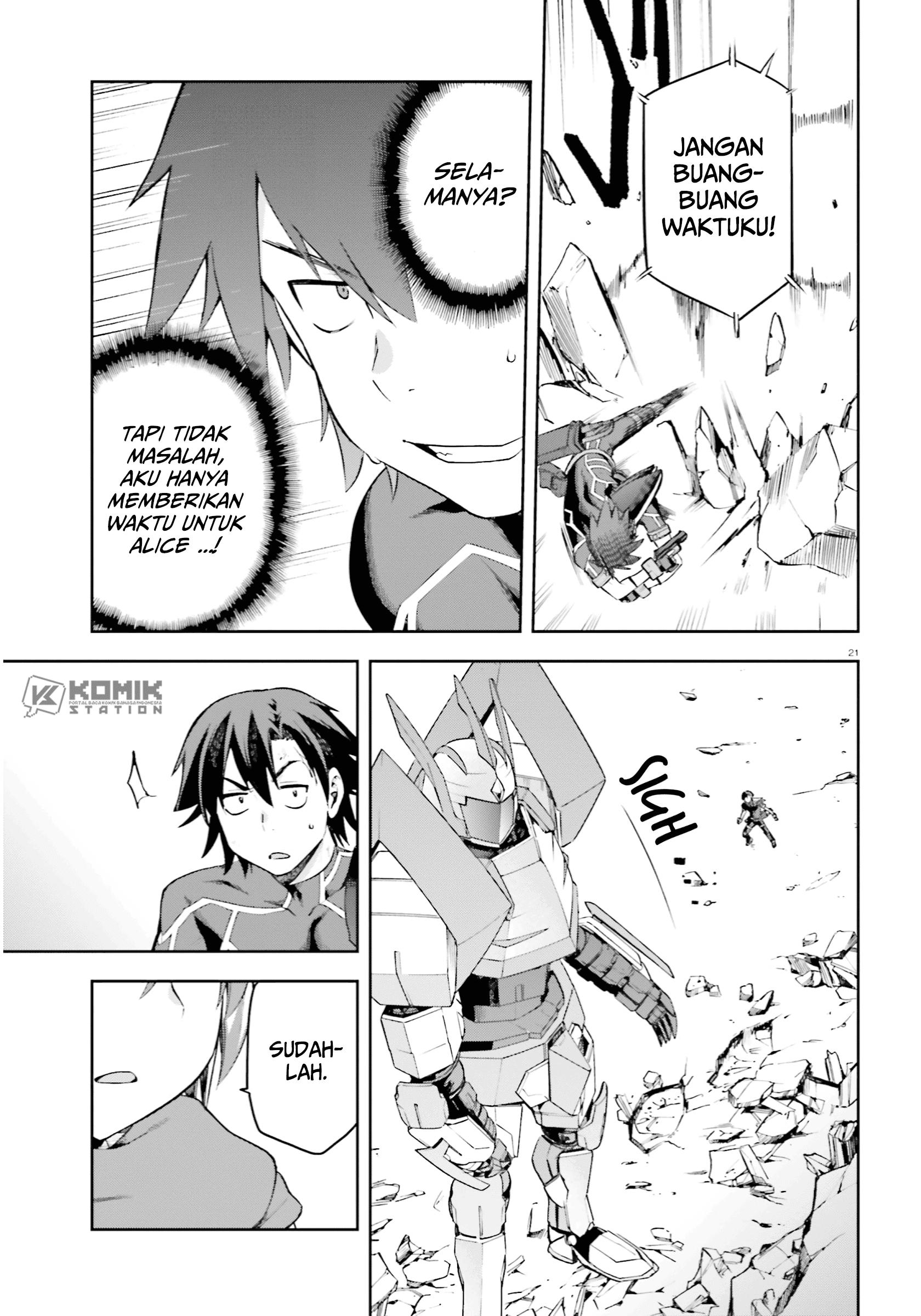 Sentouin, Hakenshimasu!: Chapter 26 - Page 22