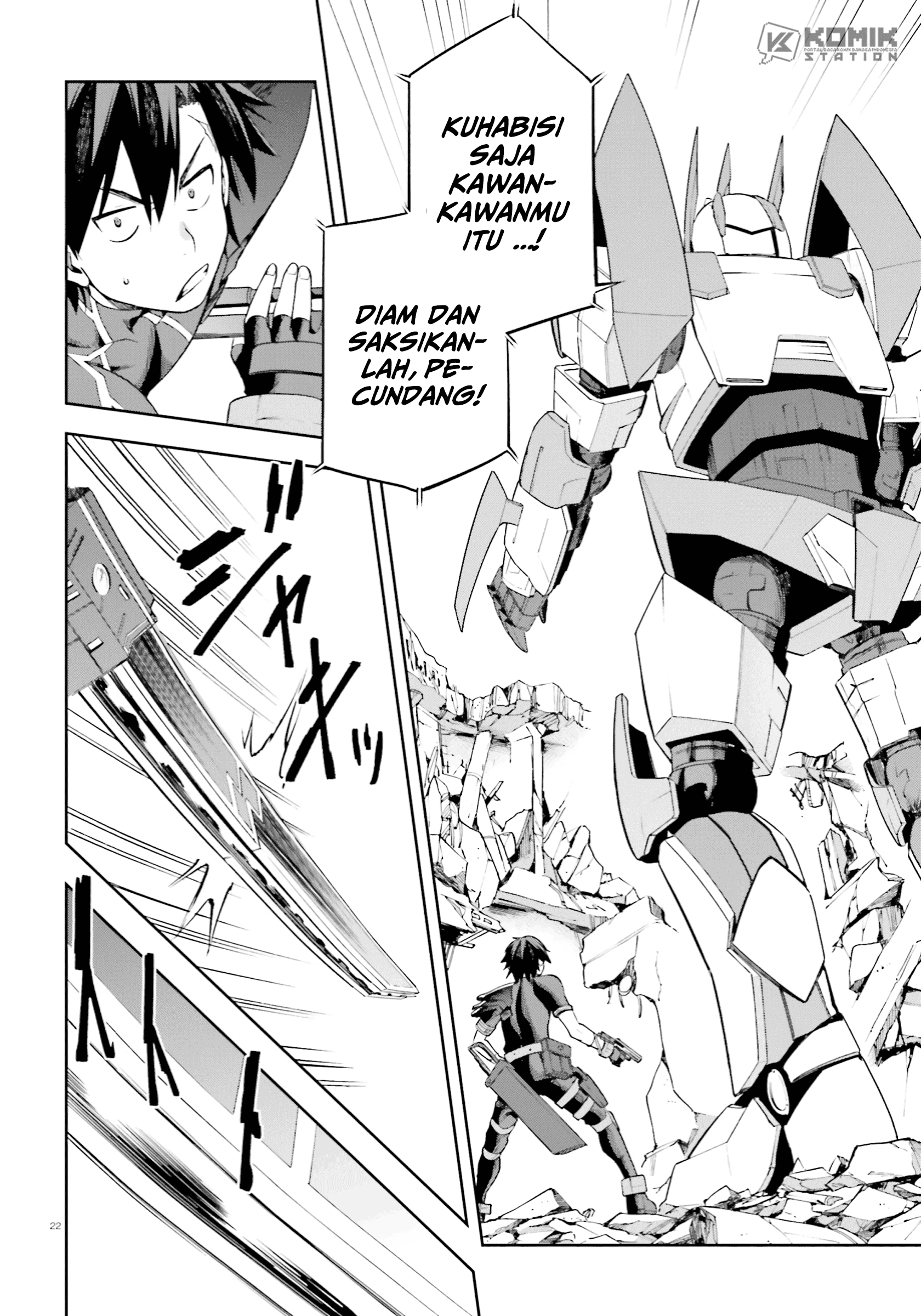 Sentouin, Hakenshimasu!: Chapter 26 - Page 23