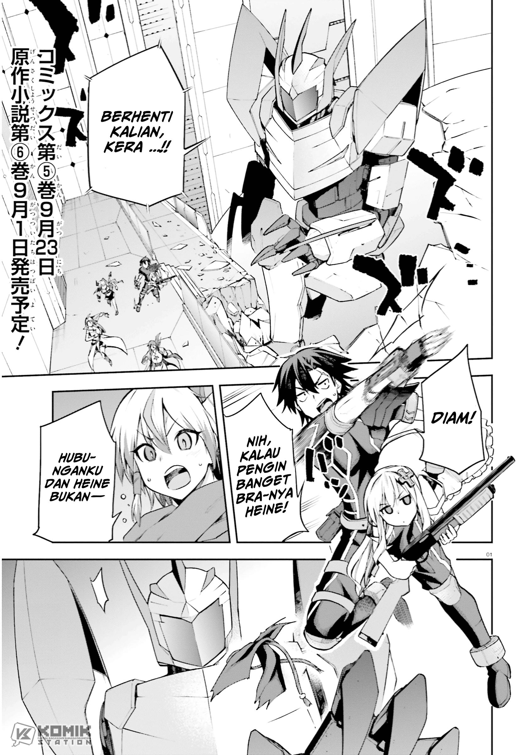 Sentouin, Hakenshimasu!: Chapter 26 - Page 2