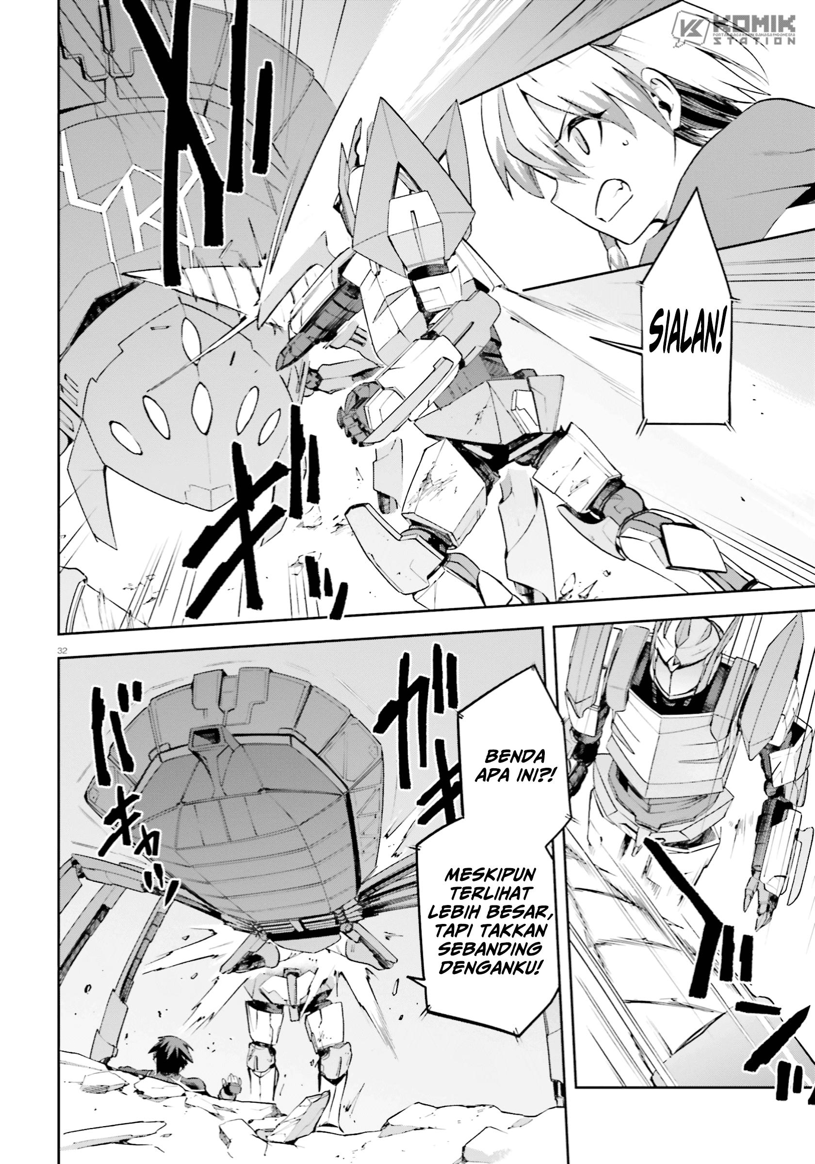 Sentouin, Hakenshimasu!: Chapter 26 - Page 32