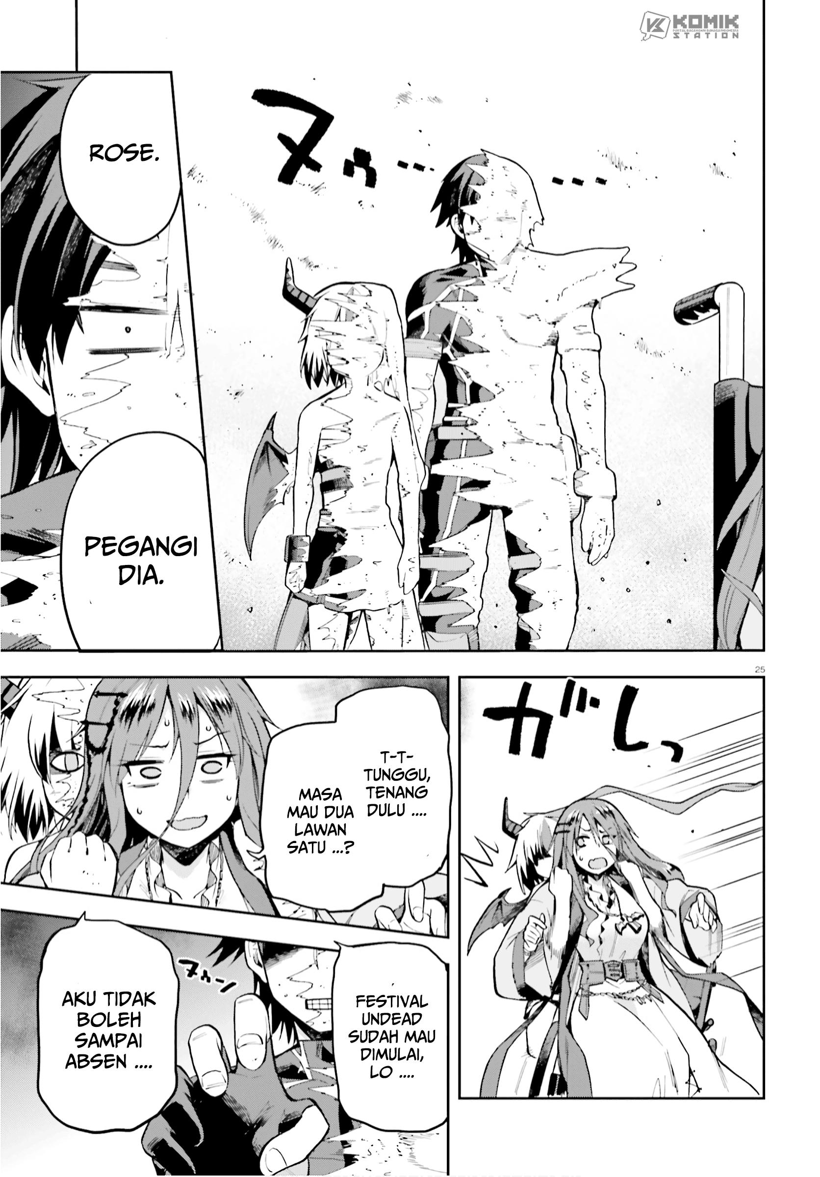 Sentouin, Hakenshimasu!: Chapter 28 - Page 24