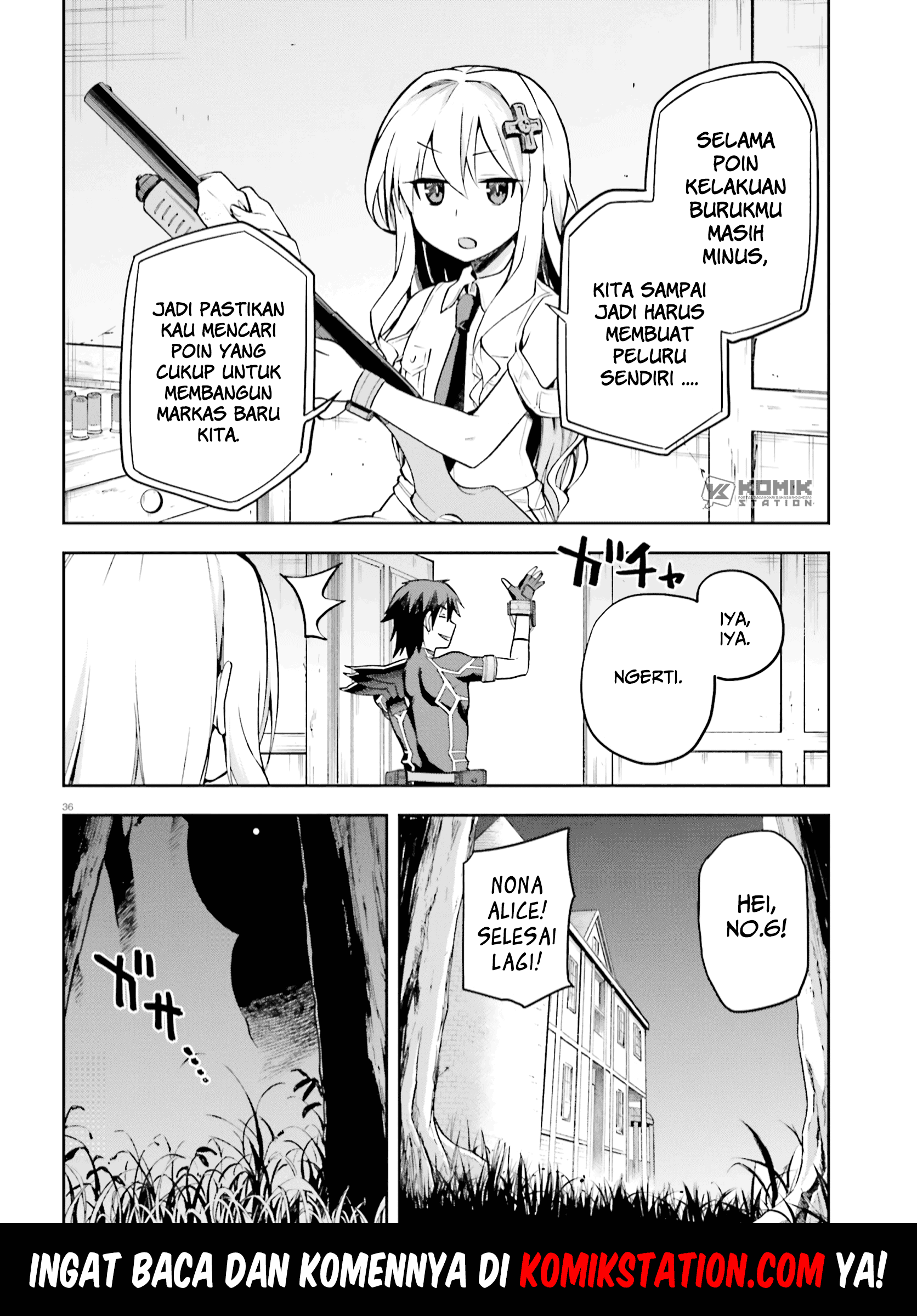 Sentouin, Hakenshimasu!: Chapter 28 - Page 35