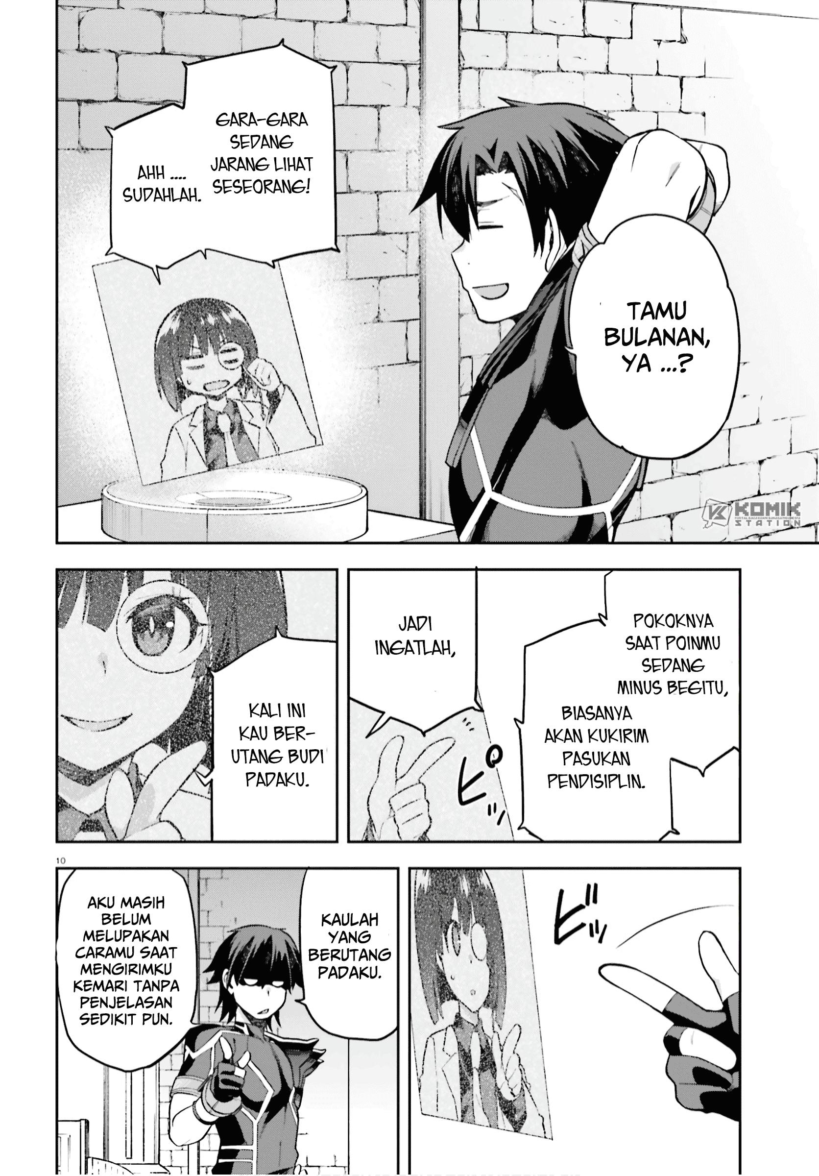 Sentouin, Hakenshimasu!: Chapter 28 - Page 9